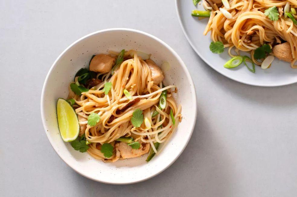 Easy Gluten-Free Vegan Thai Fried Rice Noodles