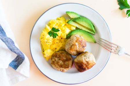 Homemade pork breakfast sausage