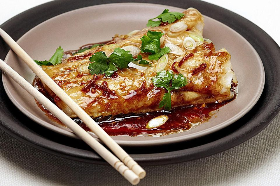 Chinese ginger soy steamed fish recipe ginger soy steamed fish recipe forumfinder Gallery