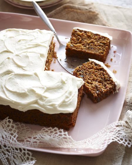 gluten free carrot cake with cream cheese frosting recipe