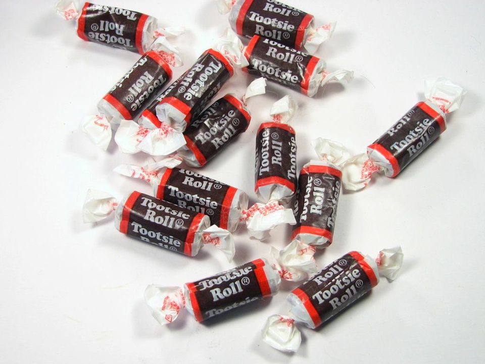Tootsie roll candy