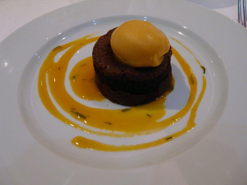 Chocolate Mango Mousse