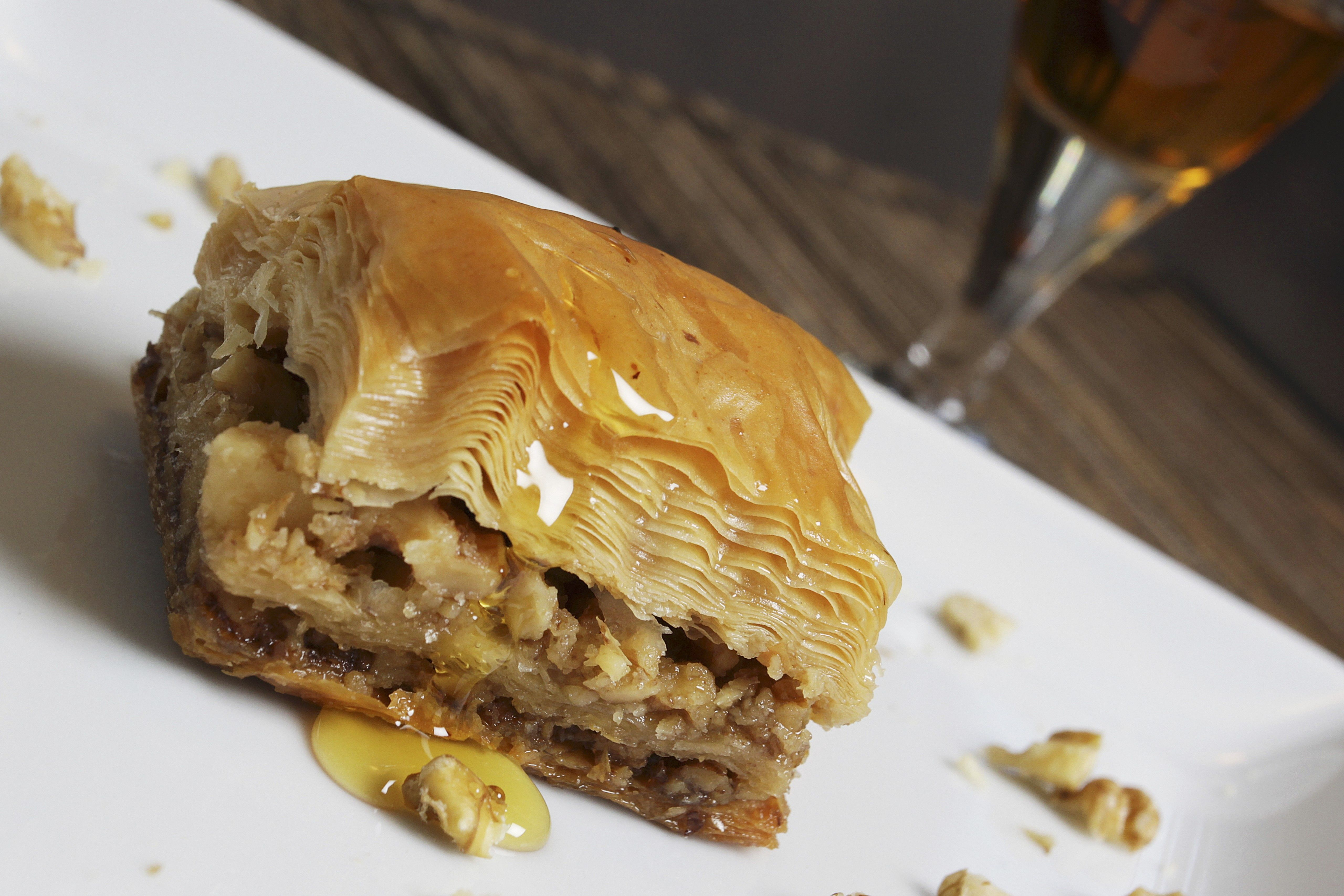 baklava - Greek Christmas Food