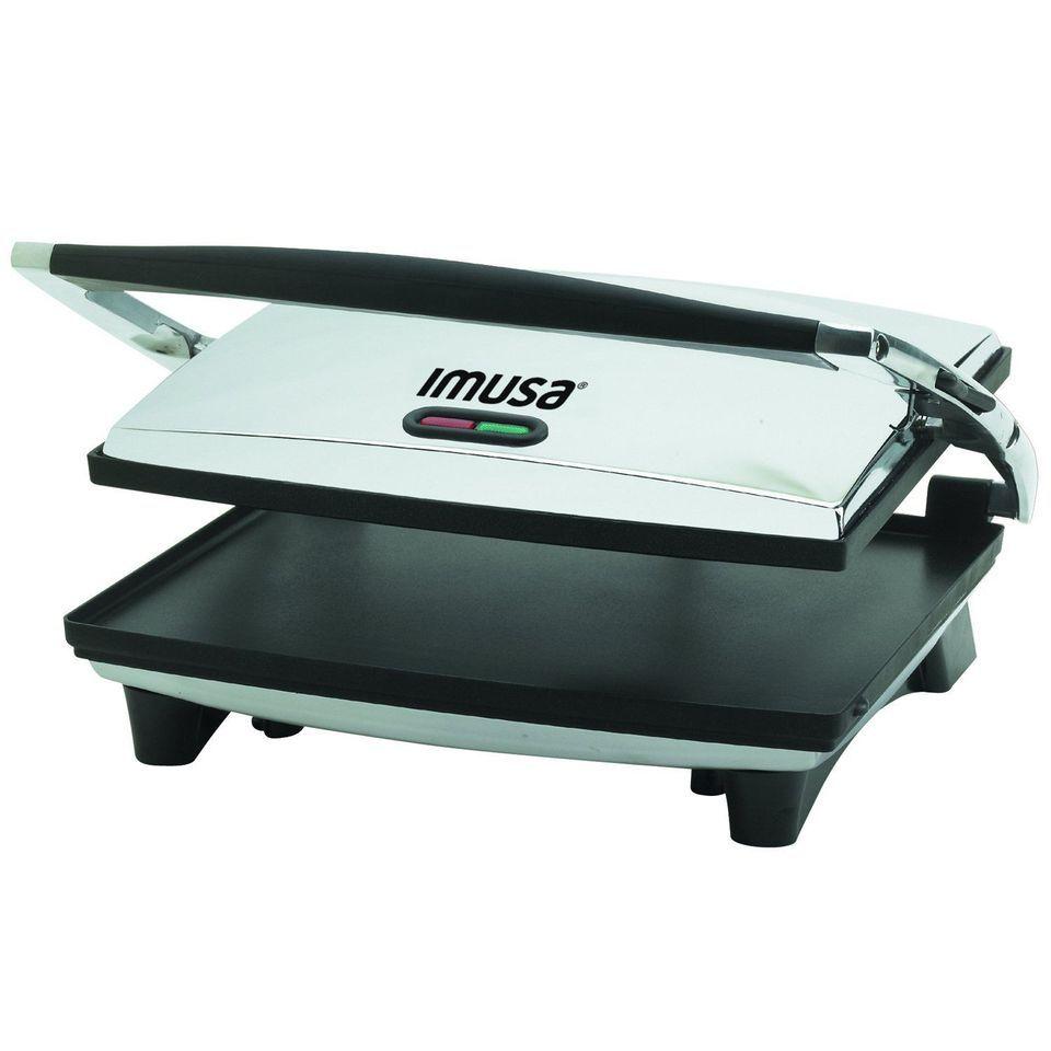IMUSA GAU-80102 Panini Press, Silver
