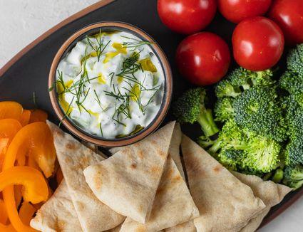 Tzatziki: Cucumber Yogurt Dip