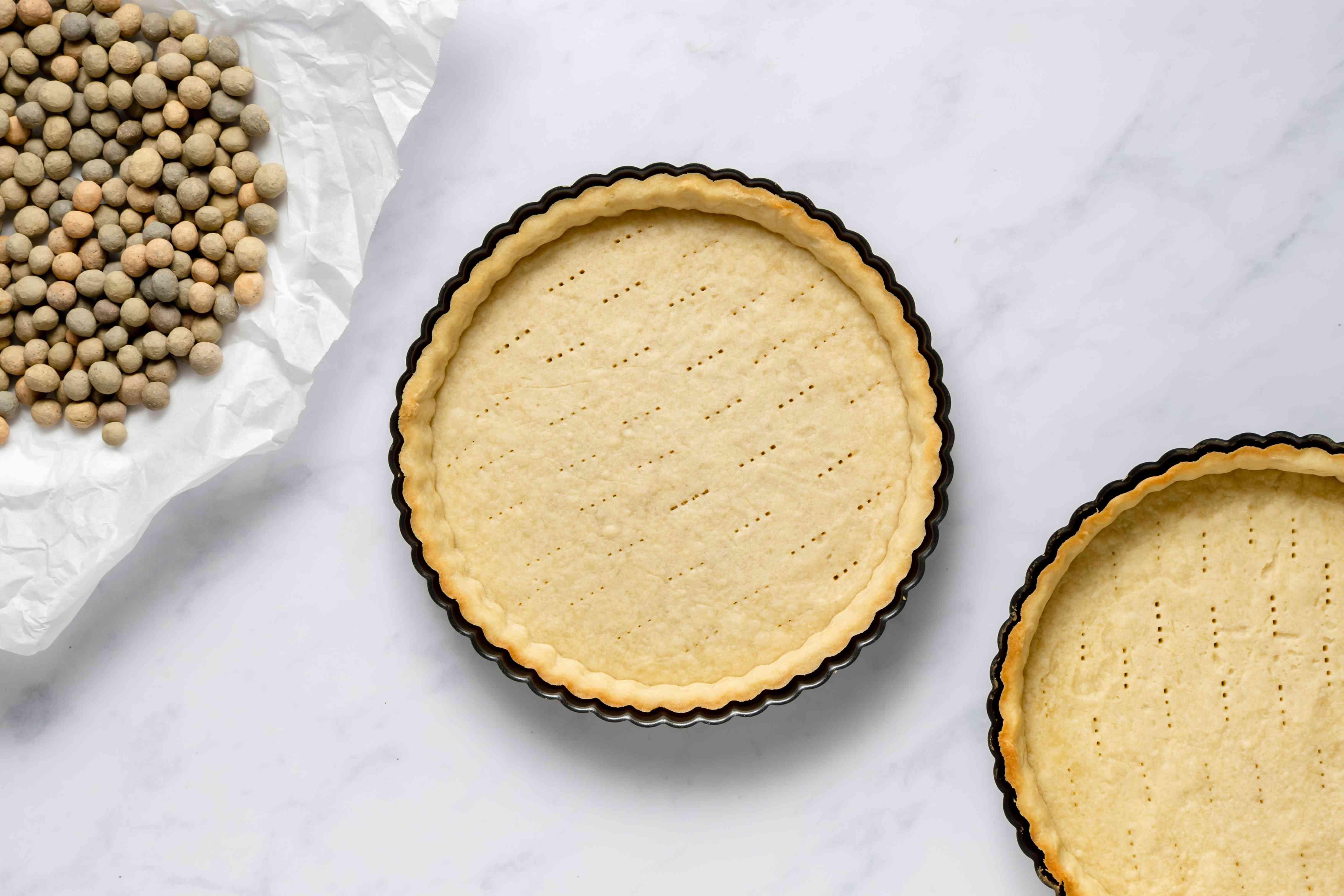 baked tart crusts