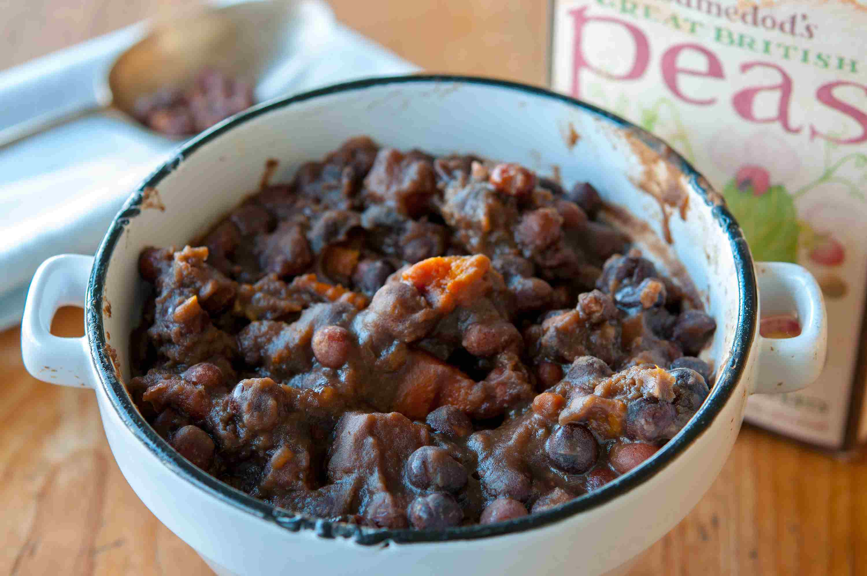Lancashie Black Peas and Vinegar