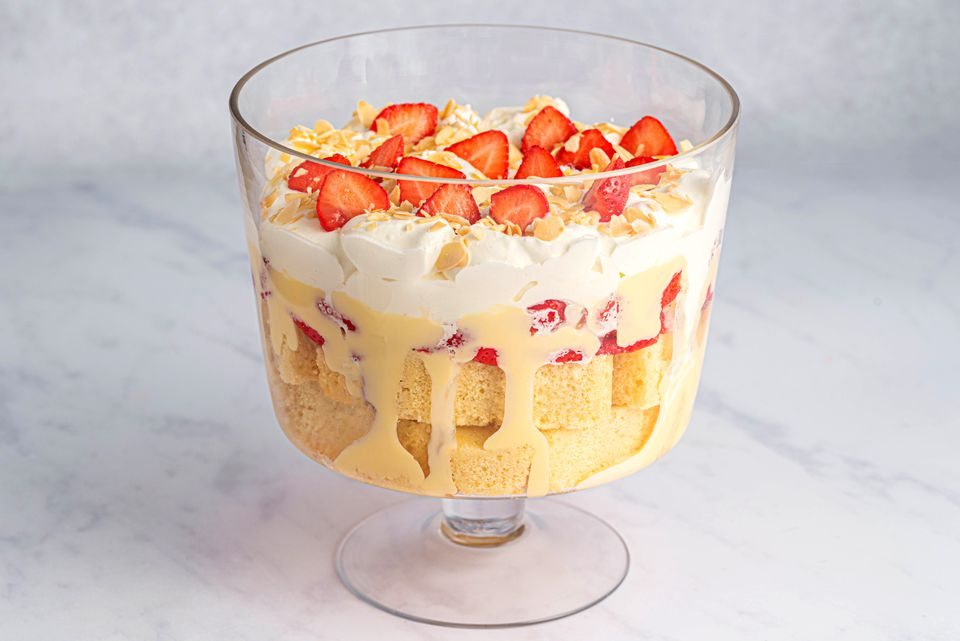 Quick Sherry Trifle