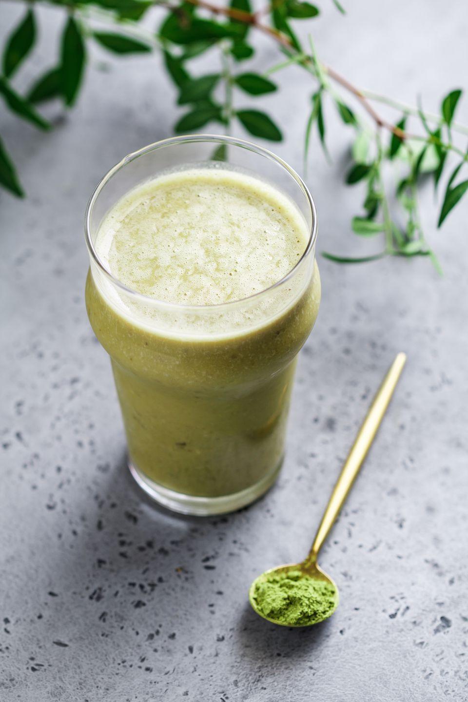 Batido de té verde Matcha