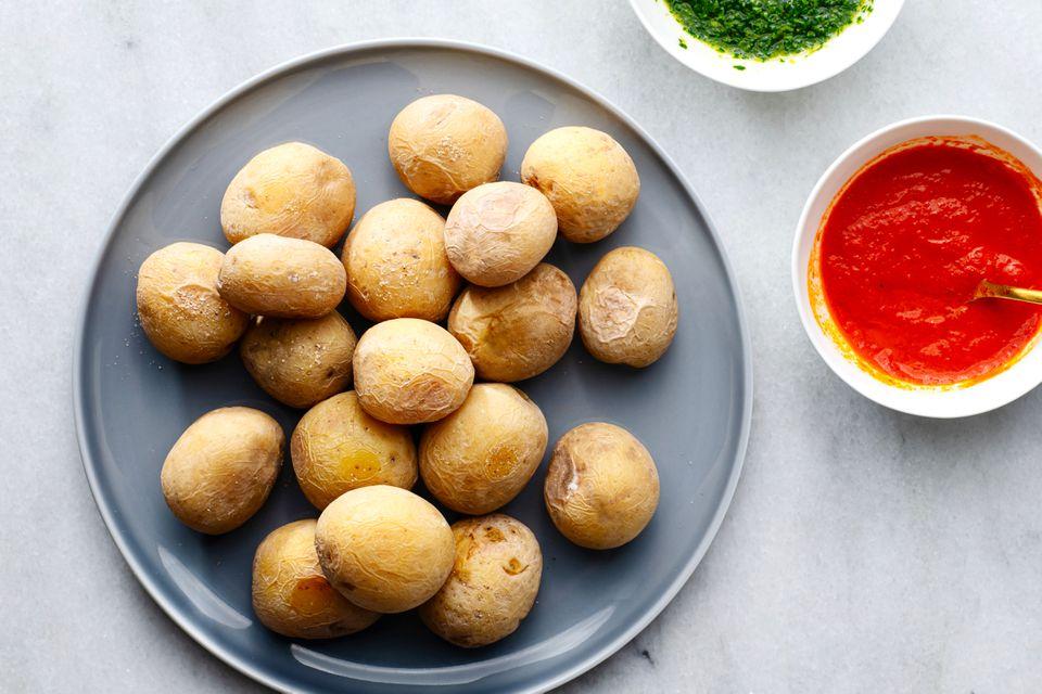 Papas Arrugadas (Wrinkled Potatoes)