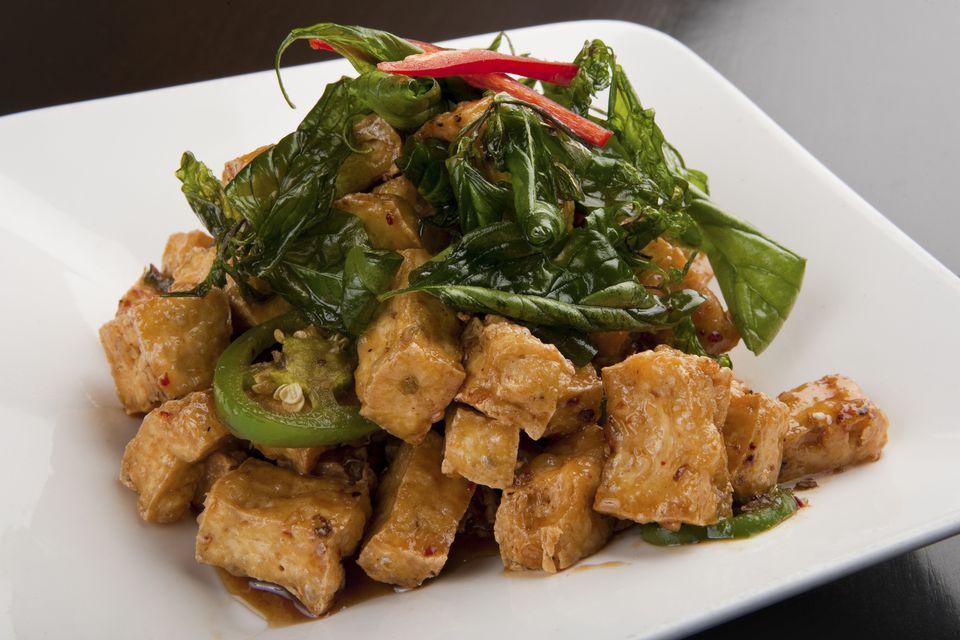 Tofu al horno Miso