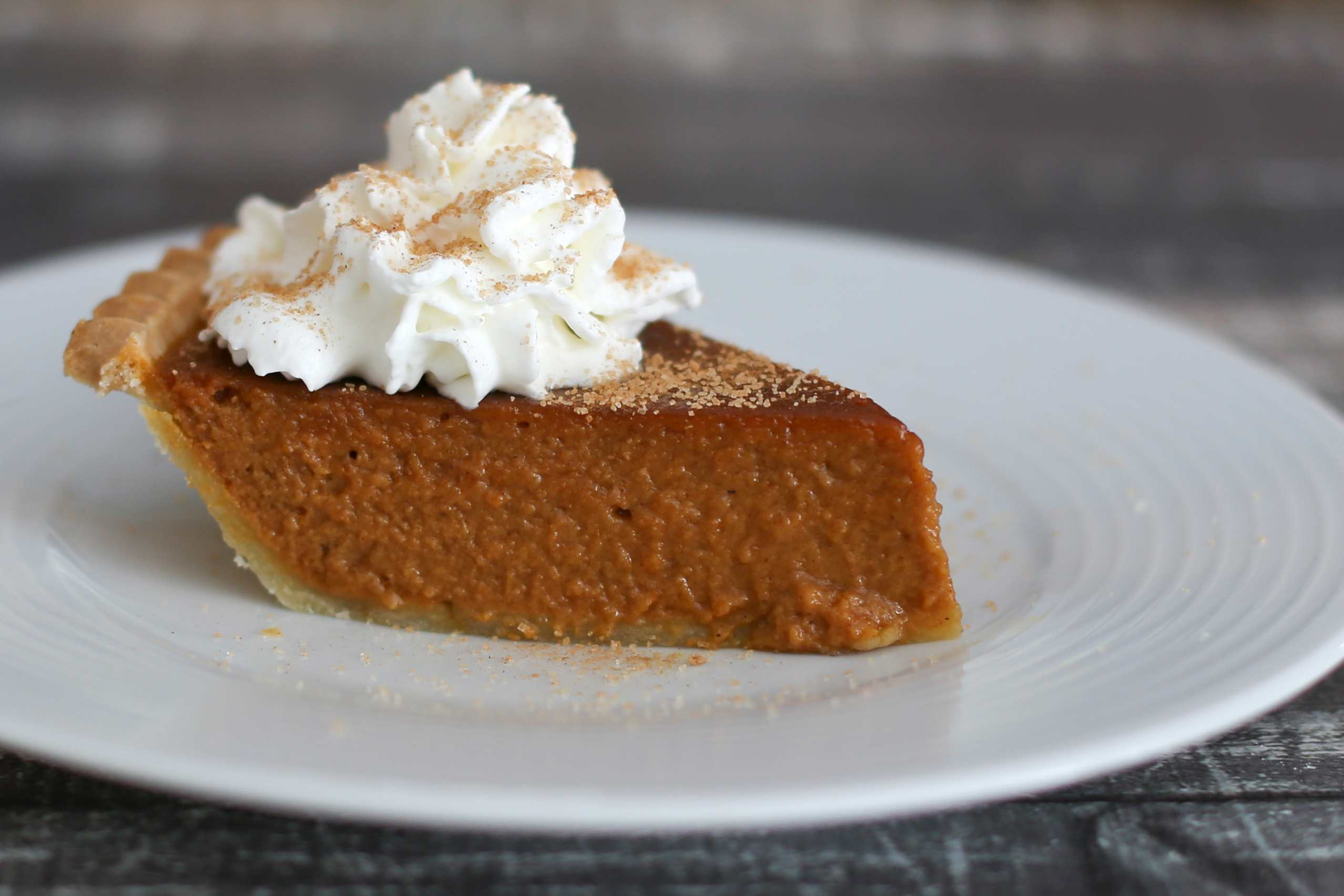 Pumpkin Pie With Molasses