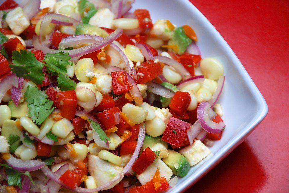Vegetarian Ceviche Salad