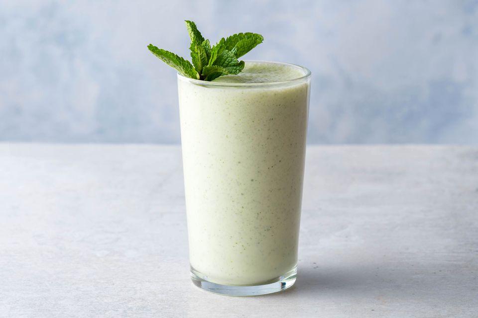 Mint Lassi: A Yogurt Smoothie
