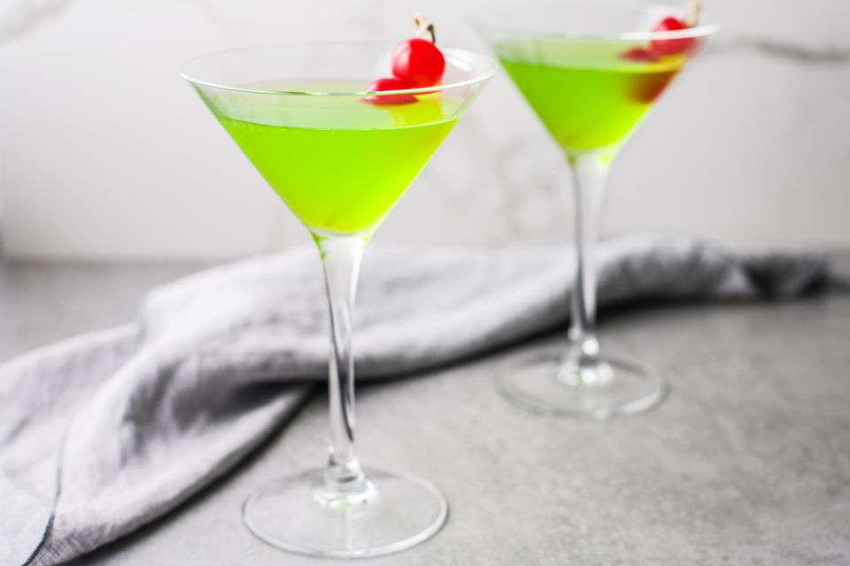 Grinch cocktail recipe