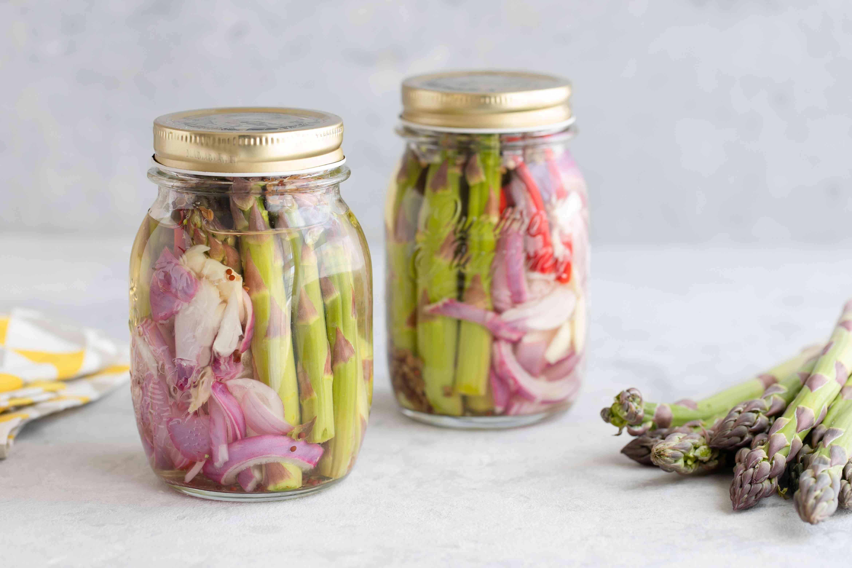 Picked asparagus recipe