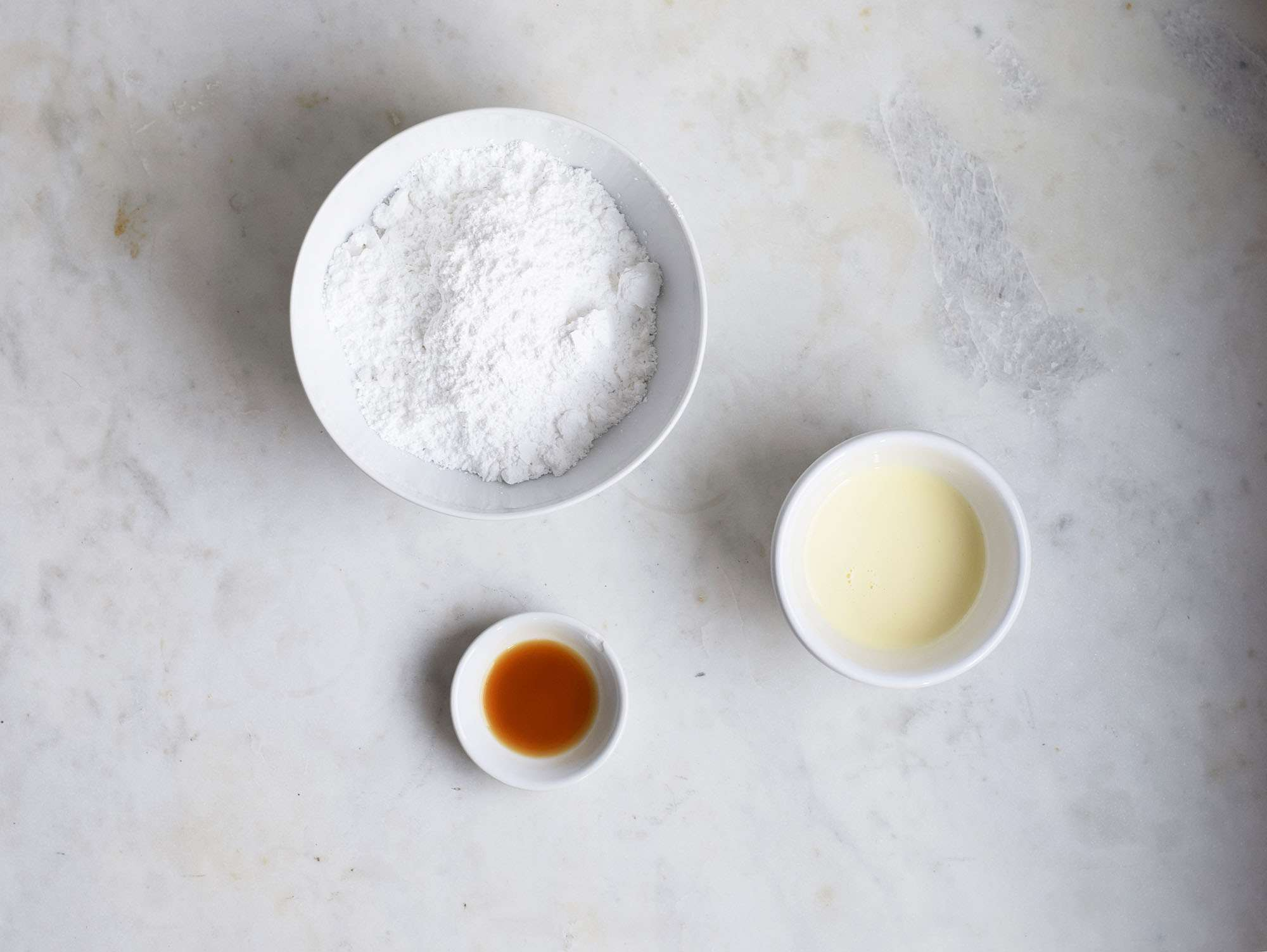 eggnog glaze ingredients