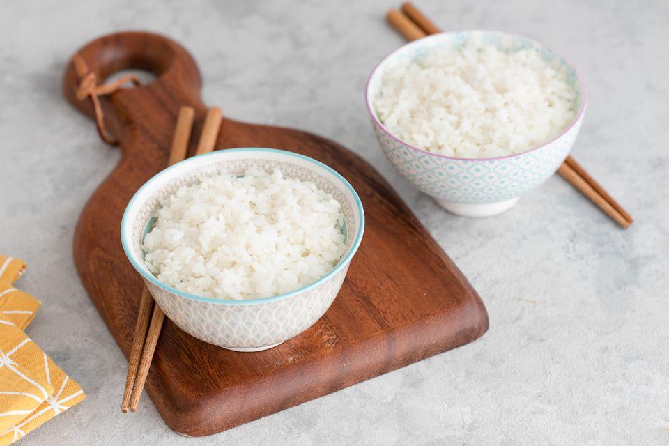 Japanese steamed rice