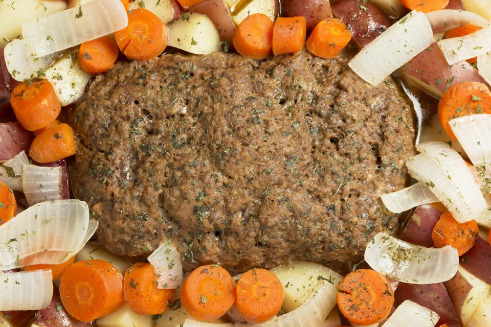 Crock Pot Meatloaf With Potatoes
