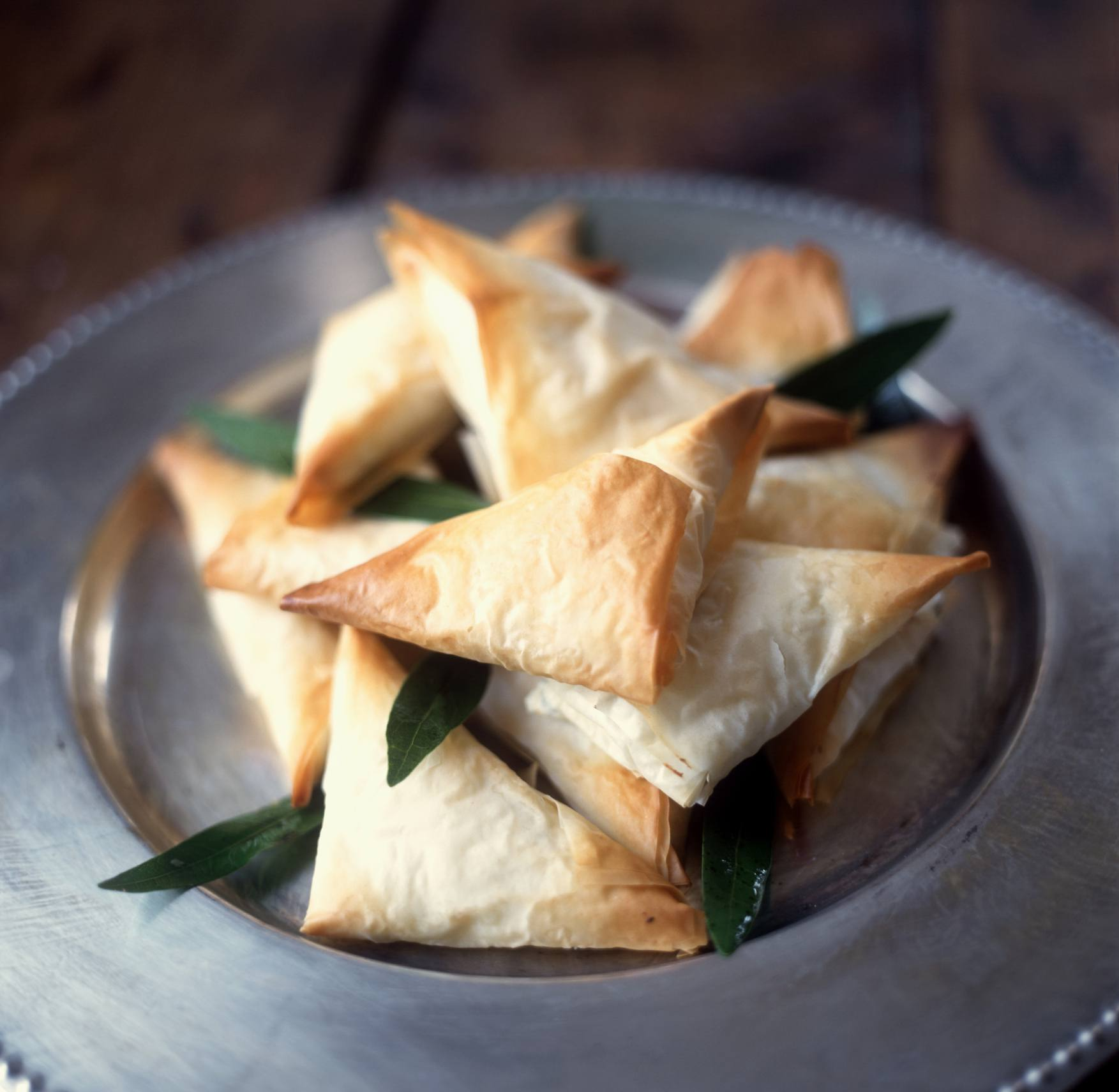 Phyllo dough turnovers