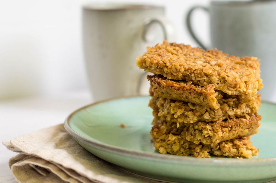 Easy Quick British Flapjack Bars Recipe