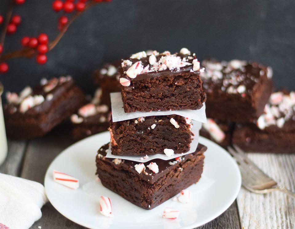 Brownies de menta