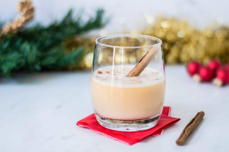Brandy Eggnog Cocktail Recipe