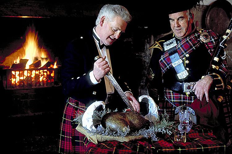 Traditional Burns Night Supper