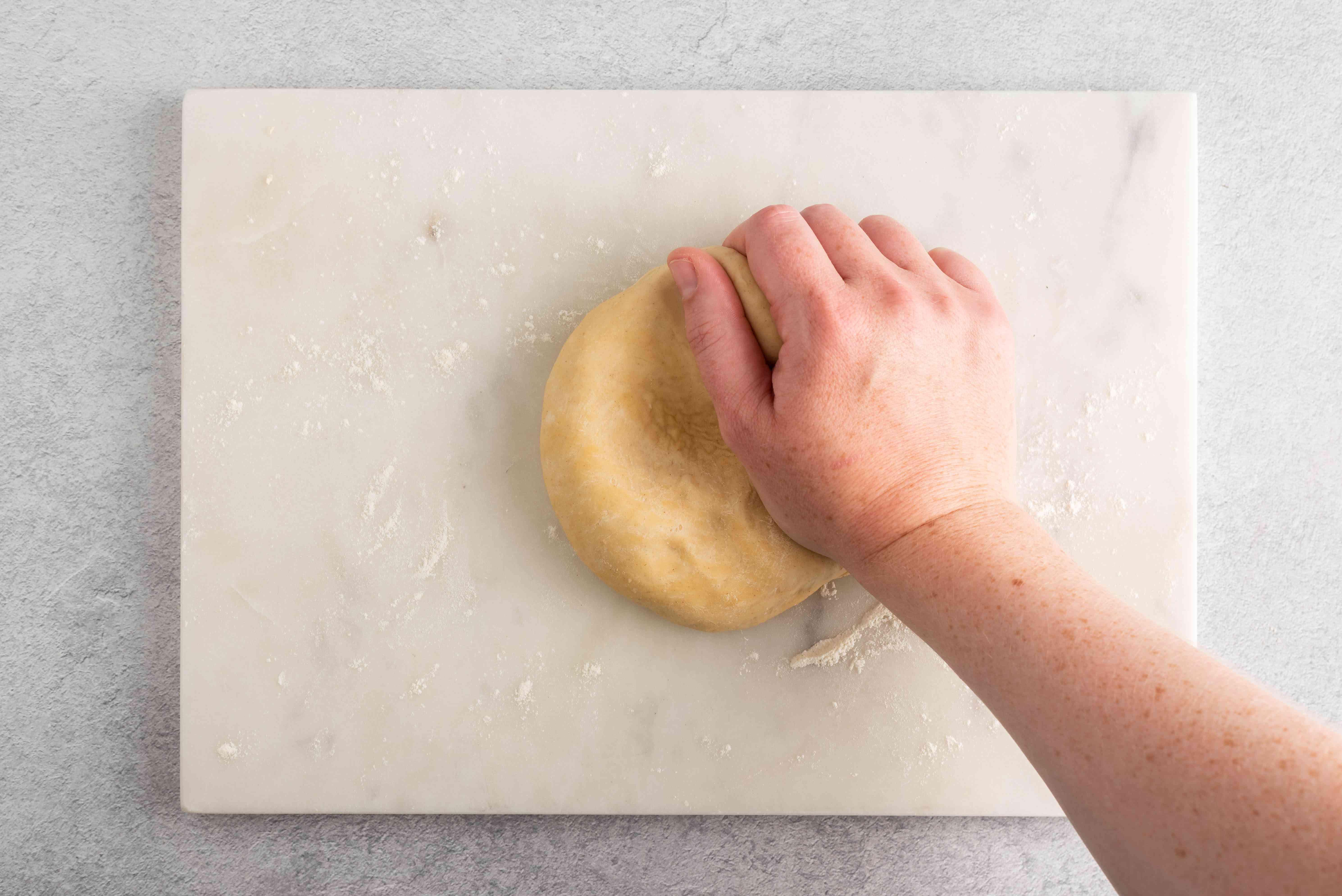 Turn dough