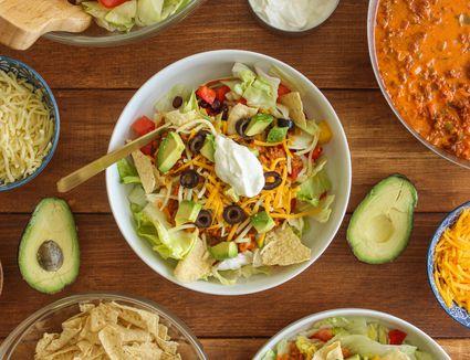Best beefy taco salad
