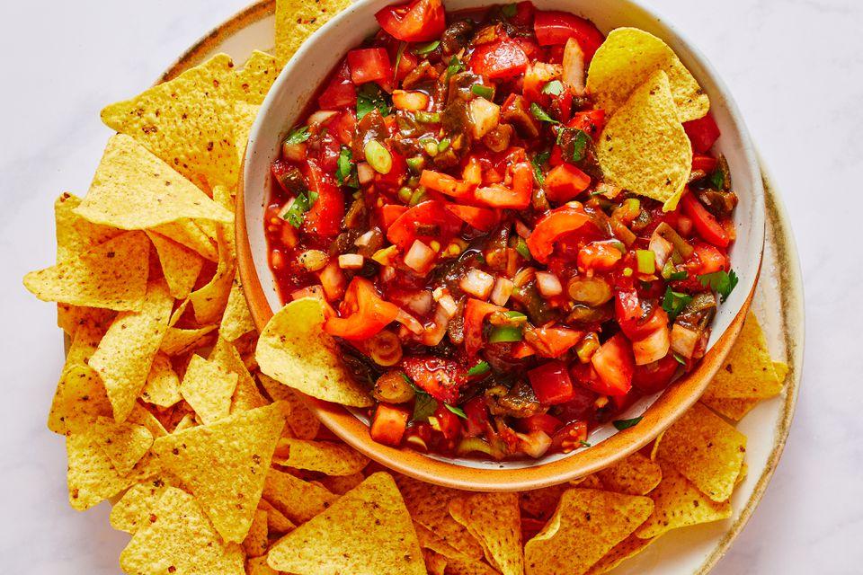 Chunky Homemade Salsa