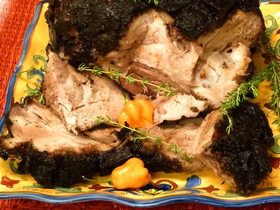 pork recipes, jerk, jamaica, jerked, jamaican, meat, receipts
