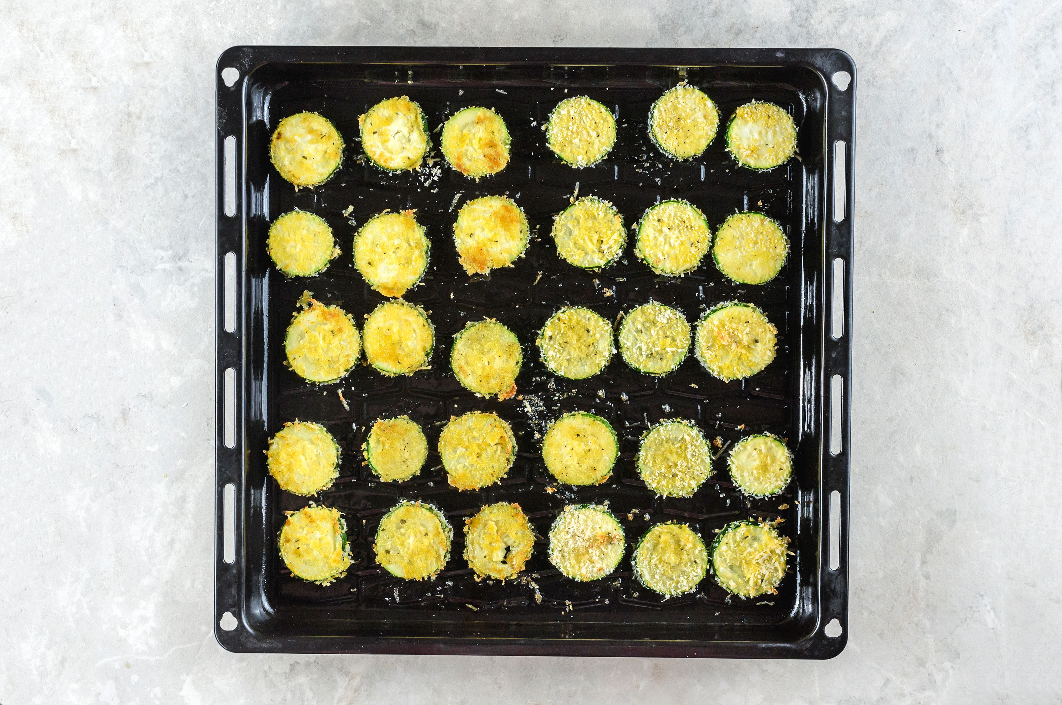 Bake zucchini
