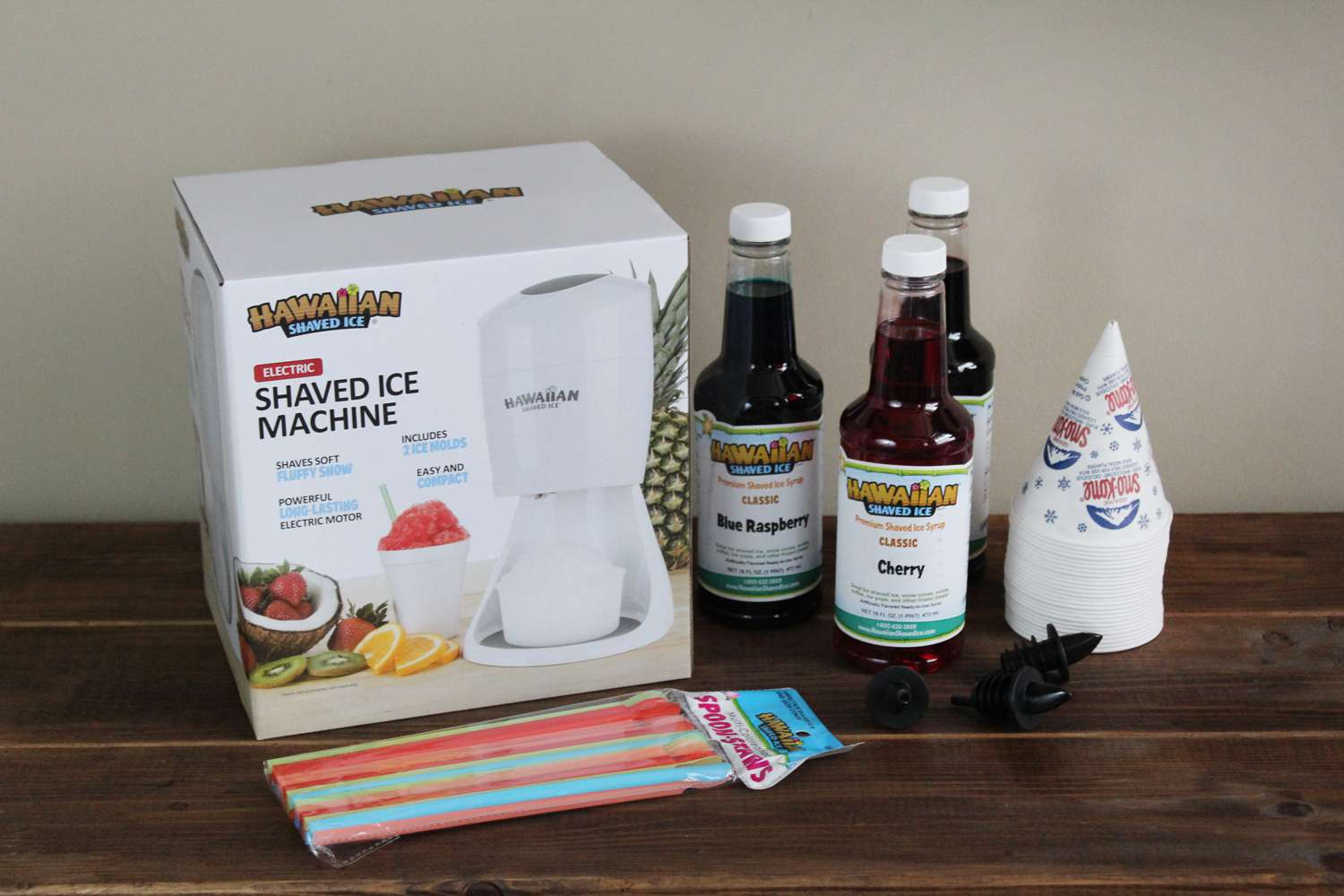 Hawaiian Shaved Ice Machine Party Package