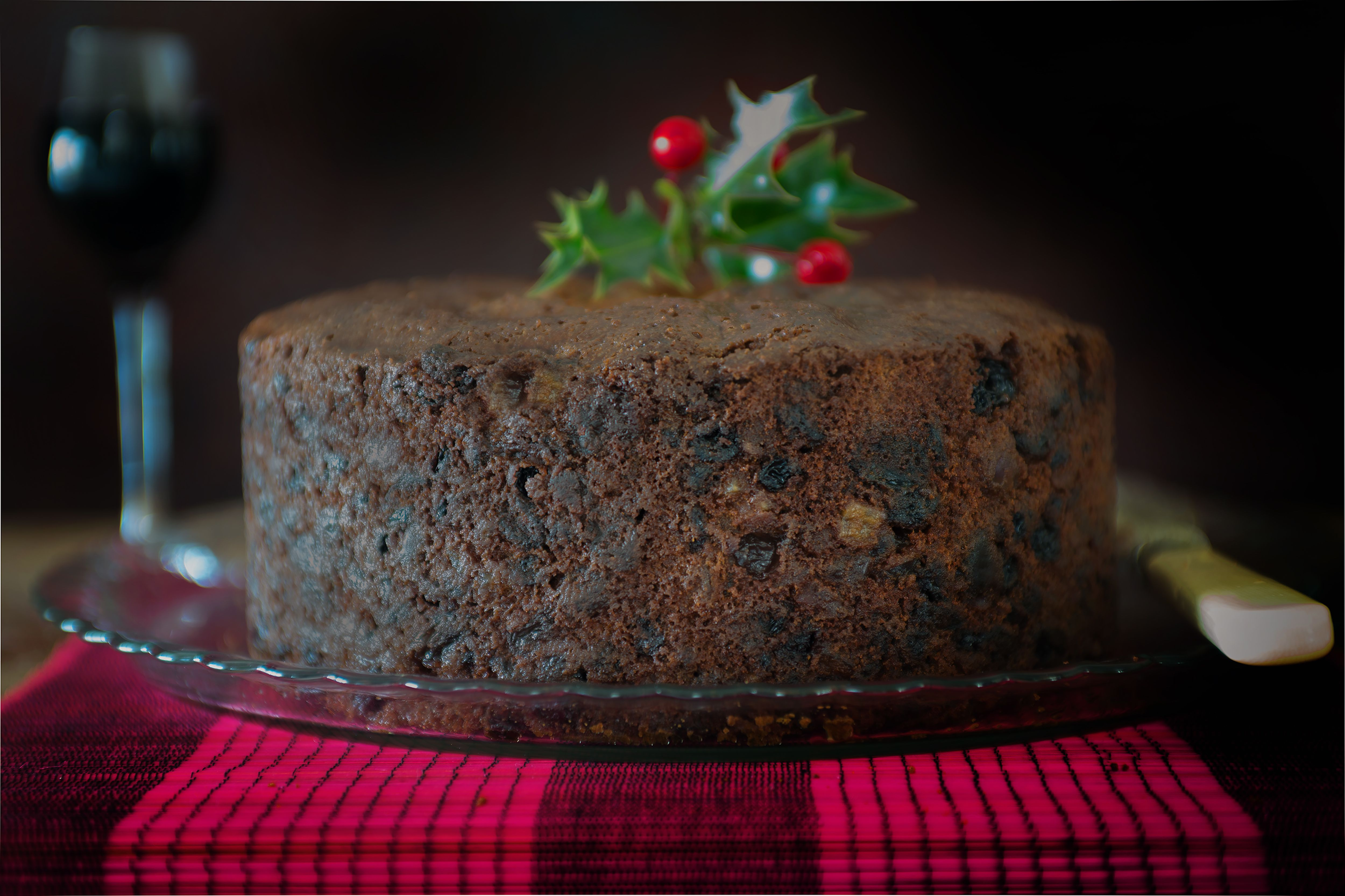 Classic British Christmas Cake