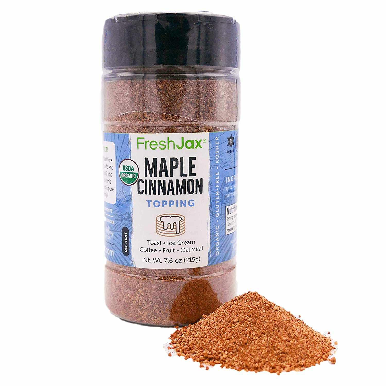 FreshJax Maple Cinnamon Sugar Topping