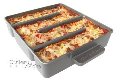Baker's Edge Simple Lasagna Pan
