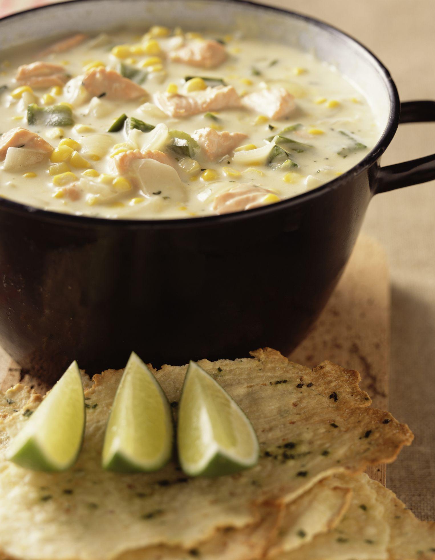 Crockpot Salmon Chowder Recipe