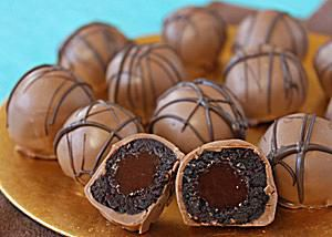 Lava Cake Truffles