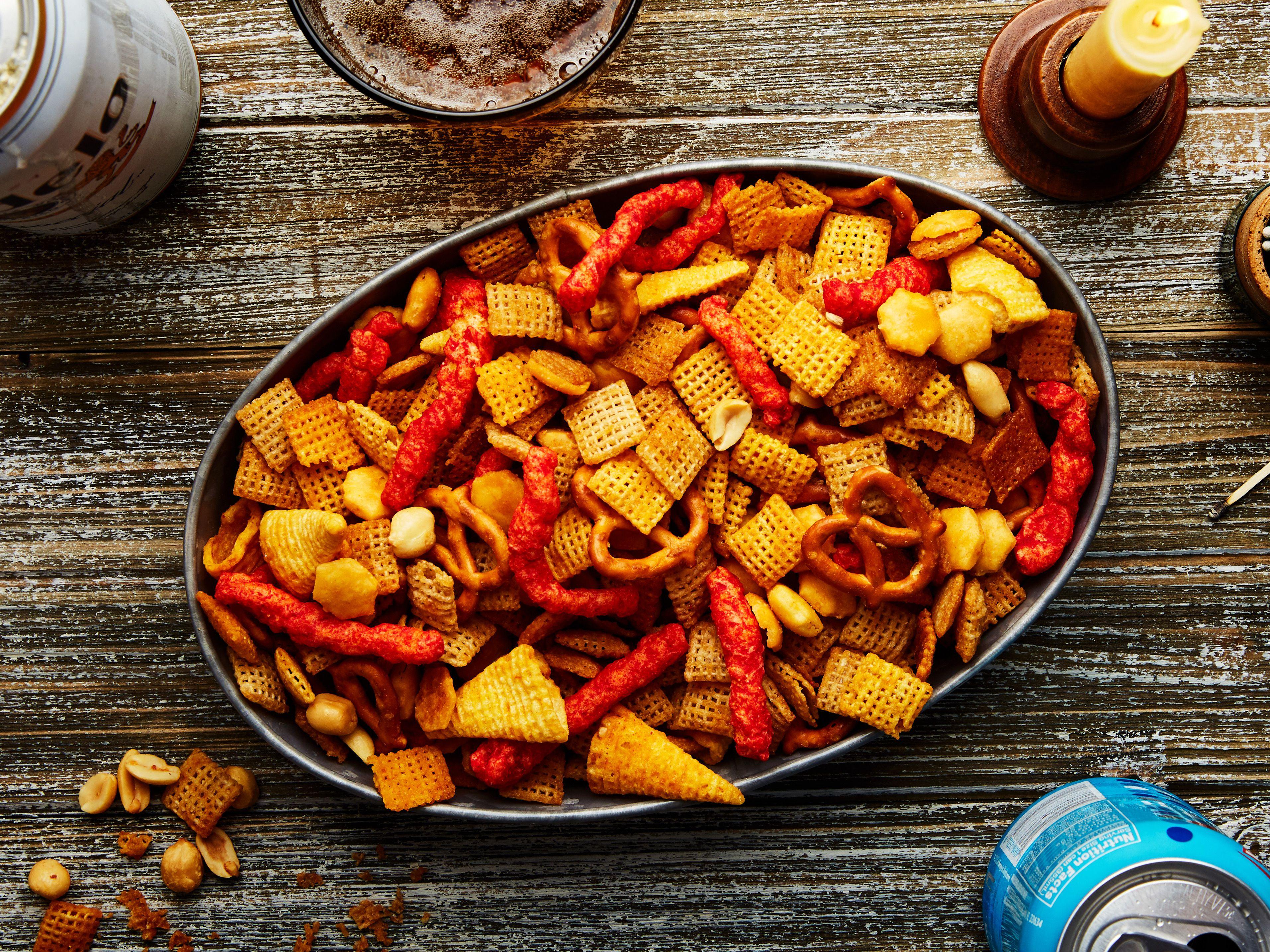 Devilishly Spicy Chex Mix Recipe