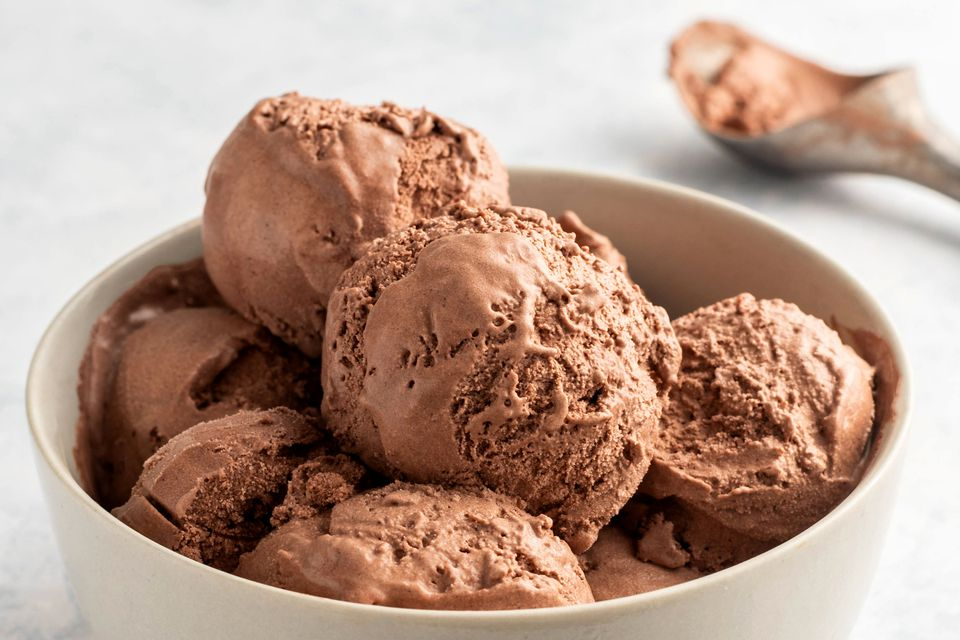 Easy chocolate ice cream recipe