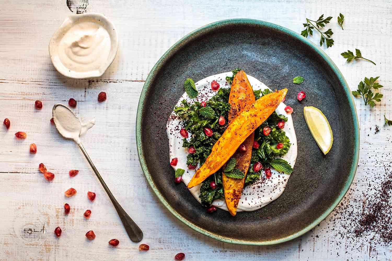 Thanksgiving Sweet Potato and Kale