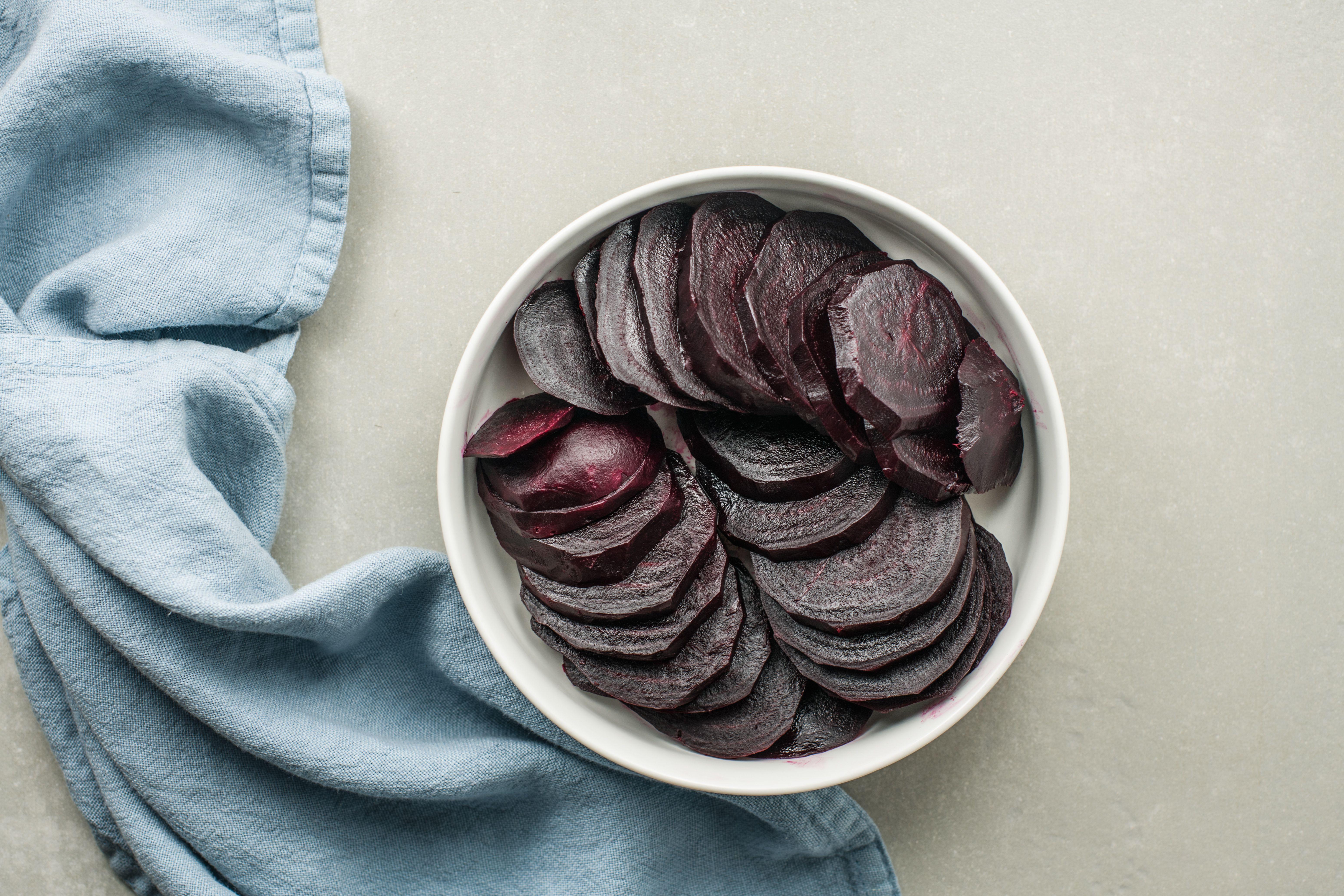 slice beets