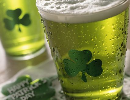 Green St. Patrick's Day Beer