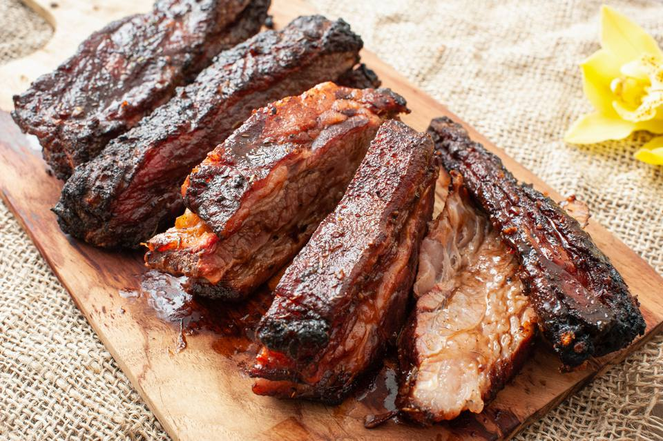 Slow-Grilled Beef Ribs Recipe