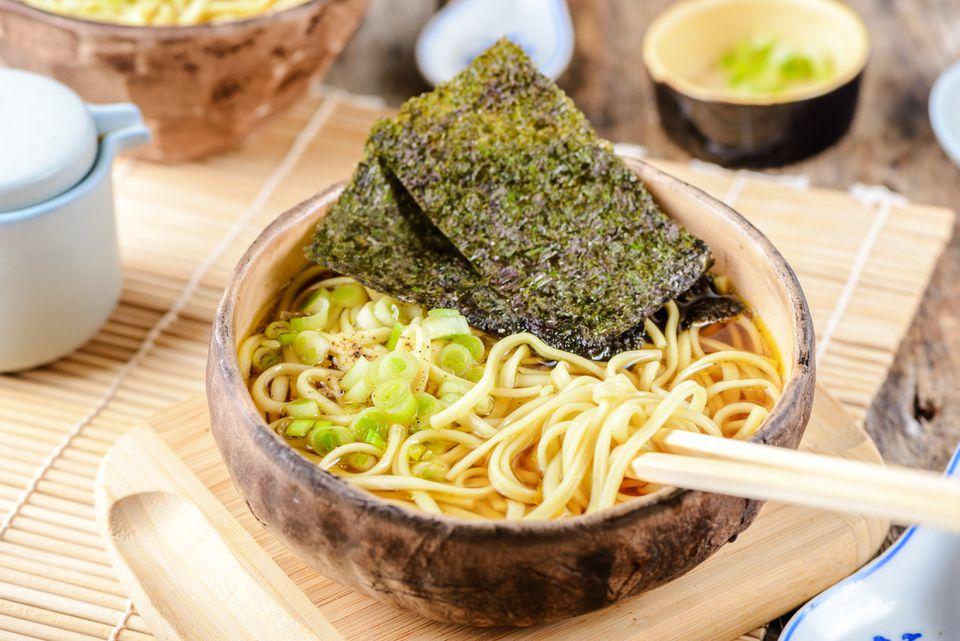 Quick shoyu ramen recipe