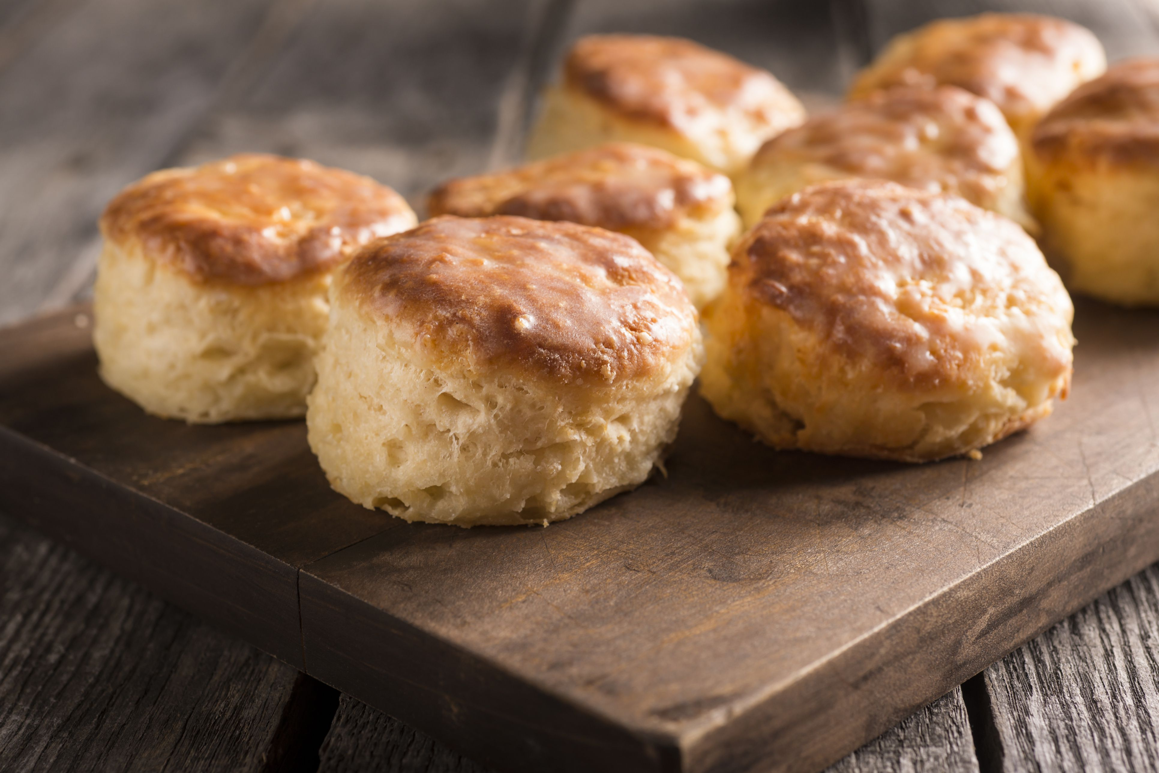 Baking Powder Biscuits for Two