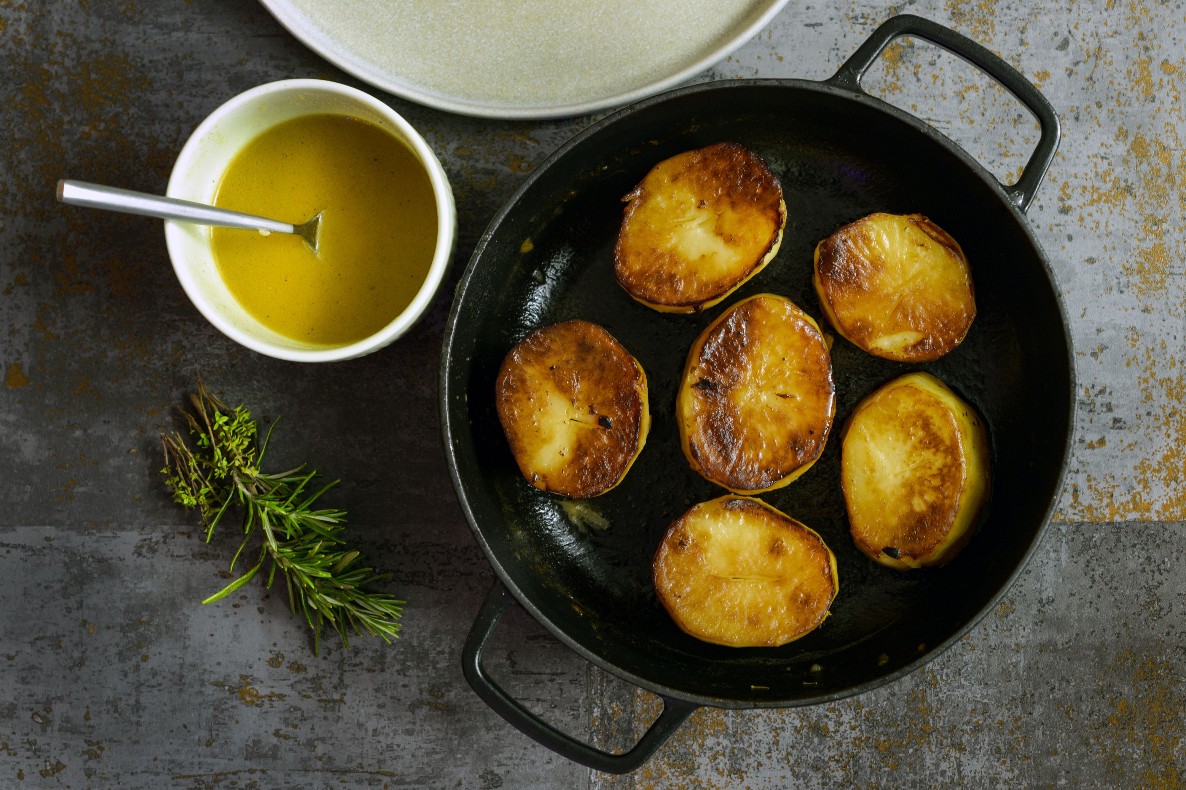 Fondant Potatoes, a Delicious Way To Serve Potatoes and So Easy To Cook