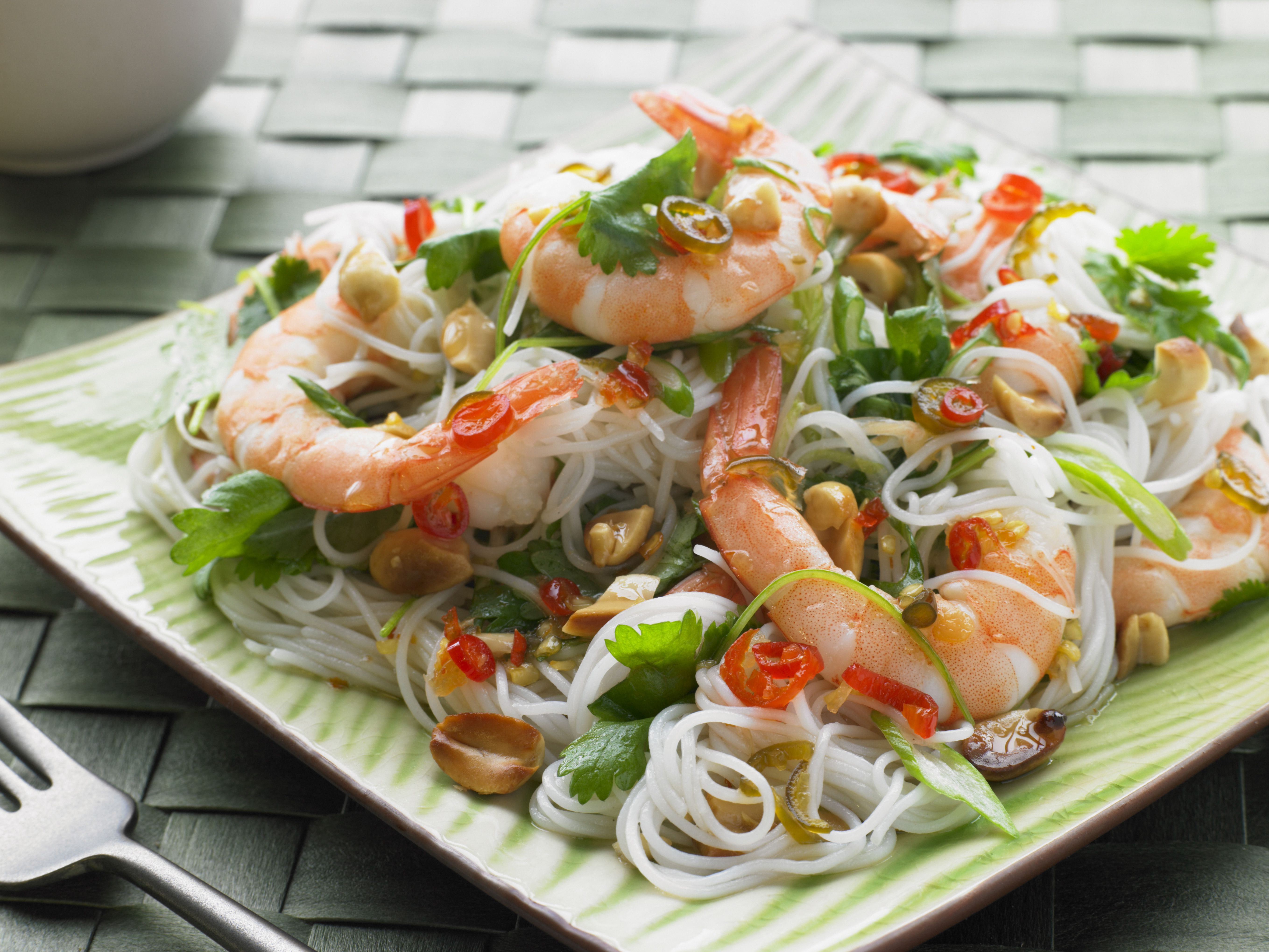 Easy Thai Noodles Recipe With Fresh Herbs Recipe