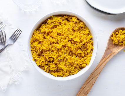 Rice Cooker Saffron Rice